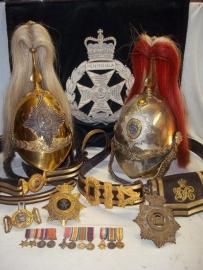 Antieke militaire hoofddeksels, ceremonieel,