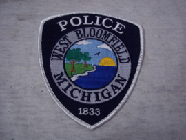 Badge, embleem West Bloomfield Michigan POLICE.