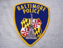 Badge, embleem Baltimore Police