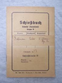 Wehrmacht schiessbuch.