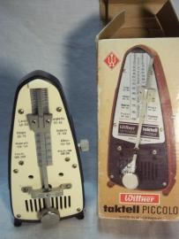 Musicmetronome in original box, Metronoom, in originele doos jaren 80