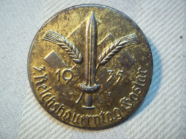 German tinnie 1935 Duitse tinnie, 3e Reichsbauerntag Goslar.