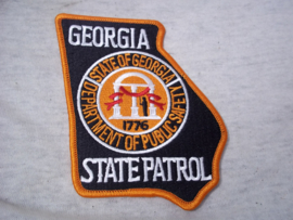 Badge, embleem State Police of Georgia