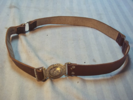 Scouting belt, be prepared. padvinders riem.