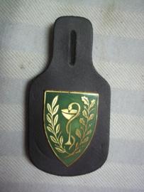 Belgische borsthanger Medische Dienst, Belgium medical unit badge
