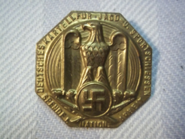 German tinnie,  Deutsches kartell fur Jagd und Sport schiessen. Duitse tinnie jacht sport, vrij zeldzaam