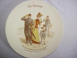 French reservist plate, Frans reservisten bordje, Luneville