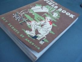 SCOUT FIELD BOOK, met vele afbeeldingen