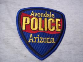 Badge, embleem Avondale POLICE Arizona.