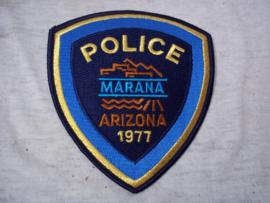 Badge, embleem Arizona MARANA Police