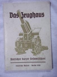 German book, Duits boek Gids voor wapen museum Zeughaus 1938