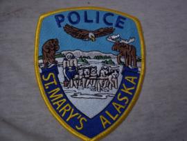 Badge, embleem St. Mary's Alaska Police