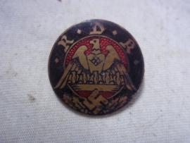 German R.D.K. member badge. Duits lidmaatschapsspeld van de REICHSBUND DER KINDERREICHEN,