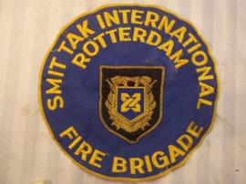 Rare firebrigade badge Smit- Tak. Zeldzaam embleem Brandweer smit-tak van de olietankers en sleepdiensten over zee.