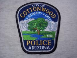 Badge, embleem Police Arizona City of Cottonwood.