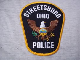 Badge embleem, Streetboro OHIO Police.