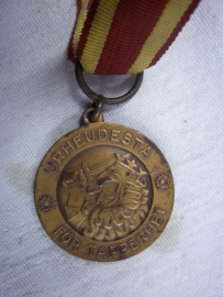 Medal Finland 1914-1918 with ribbon. Finse herinnerings medaille WO1 aan lint