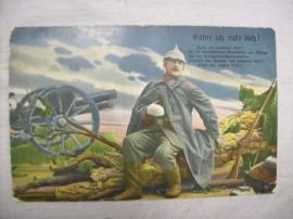 Postcard German, Duitse kaart 2. Bayerische Inf. Div.  Veldpost