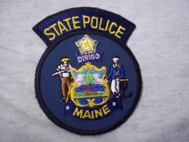 Badge, embleem State Police Maine.