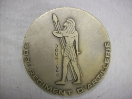 French medal 403 Artillery Regiment. Franse penning Artillerie