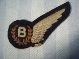 RAF padded wing Bomber. WW2. RAF wing bommenwerper.WO2