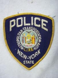 Sleeve badge New- York police, Mouwembleem Amerikaanse politie