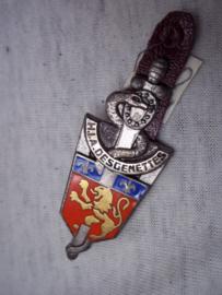 Frans borstzakembleem, geneeskundige Dienst, Medical Corps.