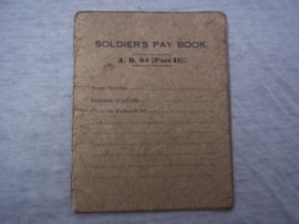 Soldiers pay book