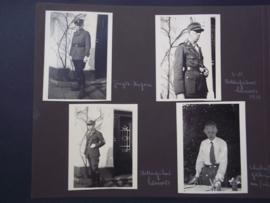 8 Foto's van een SA partij man, leuk met standaard en uniform, SA foto's zijn niet zo gemakkelijk te vinden.
