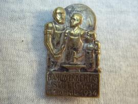 German tinnie, Handwerktag Stuttgart 1934. Duitse tinnie DAF.