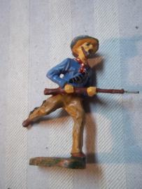 Elastolin, Durso, Lineol Cowboy rennend met geweer