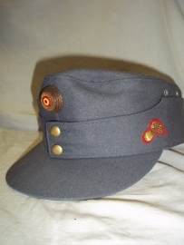 Austrian military cap with embroided badge, Oostenrijkse legerpet officiers model.