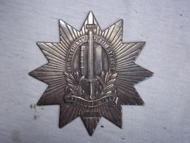 Dutch police badge. Politieprijs 22e Internationale sterrit Zandvoort 1967  8 bij 8 cm.