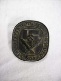 German badge plastic, original Gautreffen westfalen 1937