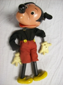 Pelham puppet Mickey Mouse without the wiring. Marionet pop Disney zonder touwtjes