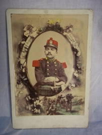 Photograph French soldier, officer.