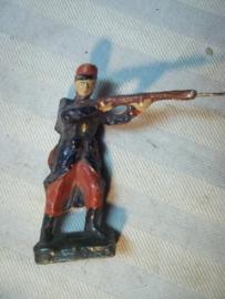 Elastolin, Durso, Lineol Franse soldaat met vroeg model uniform