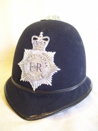 English police helmet Metropolitan, nearly mint condition. Engelse bobbyhelm als nieuw