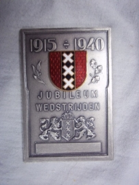 Dutch police medal Amsterdam. Politie medaille Amsterdam 1940 sport