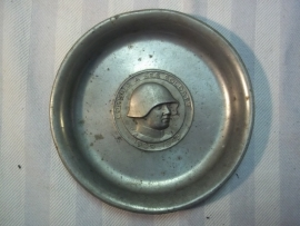 Swiss remembrance metal plate. Herinneringsbordje Zwitsers leger 1940-1945