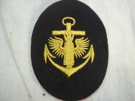 German kriegsmarine badge coast artillery. Kriegsmarine embleem kustartillerie