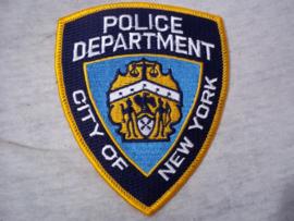 Badge, embleem Police department City of New-York