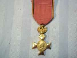 Belgische medaille Koning Albert, veteranen