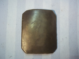 French buckle regular army, 1870- 1871- also worn in 1914-1918.