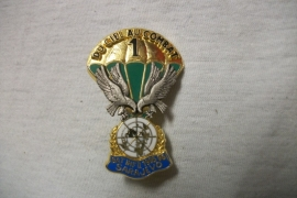 French para badge Franse borsthanger  1e Inft. Bat. Sarajewo