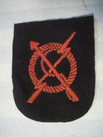 British naval badge, from Malta, Engels marine embleem