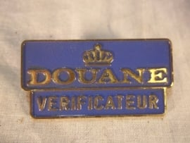 Badge Dutch customers. Douane embleem