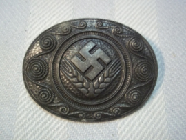 German female RAD badge. Duitse broche RAD vrouwen met maker.