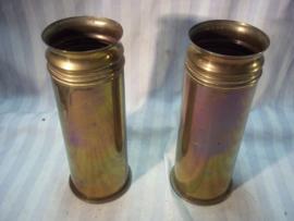 Set Duitse Hulzen, te gebruiken als vaas, 1907- 1917 mooie set. hoogte van de vaas is 23 cm.