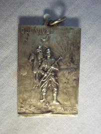 Belgium medal for the bravery soldiers from the city LAER. Belgische medaille uitgereikt aan de strijders van de stad LAER uit erkentelijkheid.